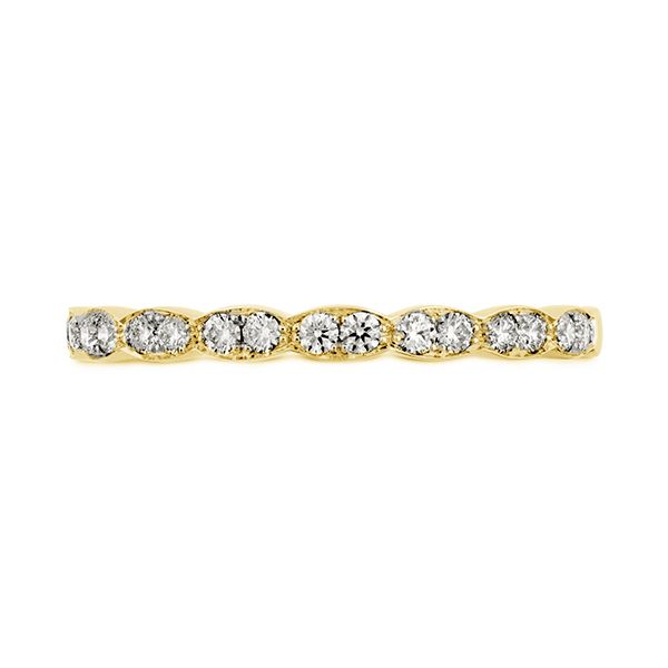 Hearts on Fire Lorelei Floral Wedding Band Koser Jewelers Mount Joy, PA