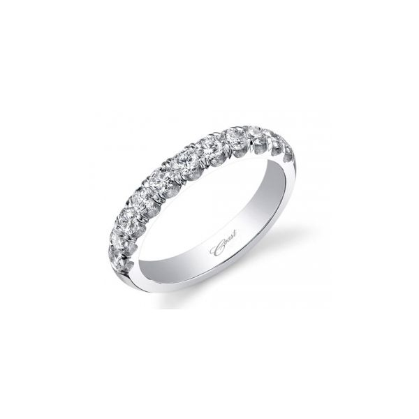 Coast Fishtail Diamond Wedding Band Koser Jewelers Mount Joy, PA