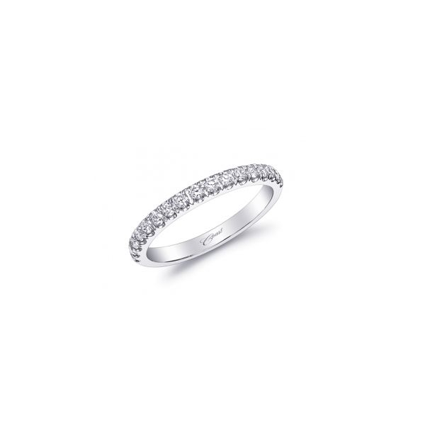 Coast Fishtail Diamond Wedding Ring 1/3 cttw Koser Jewelers Mount Joy, PA