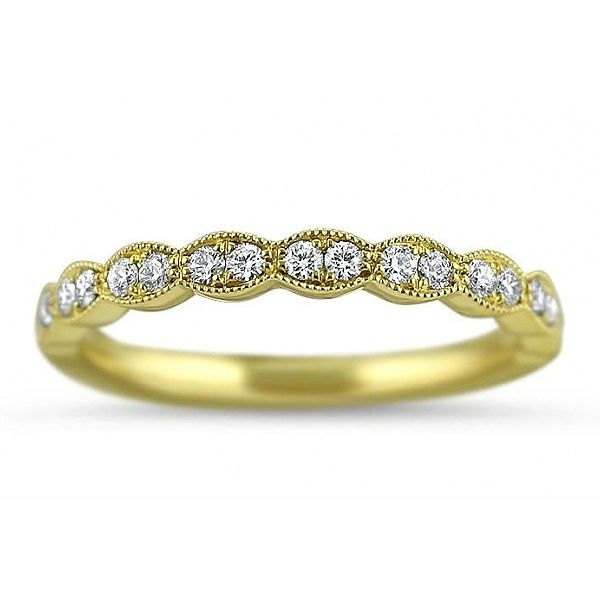 Hearts On Fire Lorelei Milgrain Diamond Wedding Band Koser Jewelers Mount Joy, PA