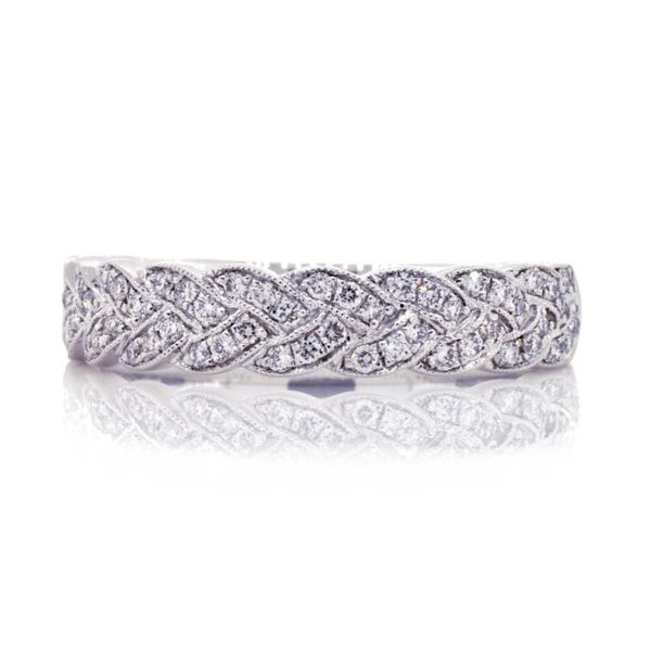 Coast Braided Pave' Set Diamond Band Koser Jewelers Mount Joy, PA