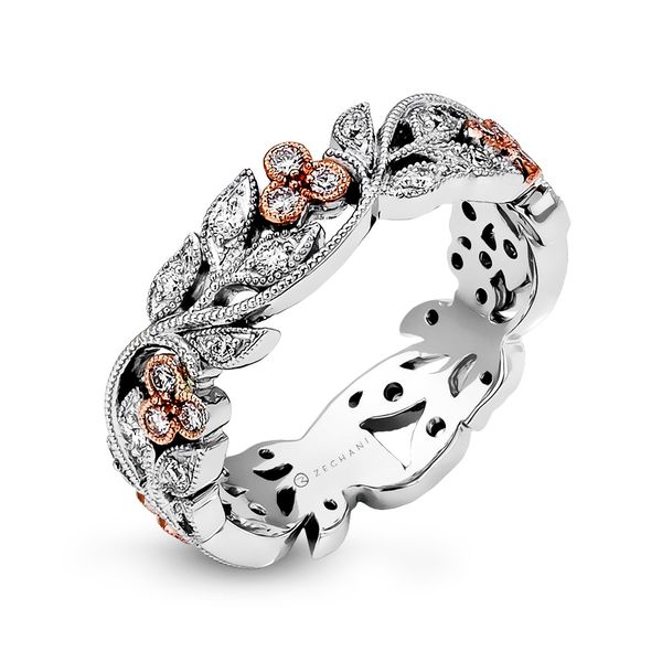Zeghani Nature Lover Vine & Leaf Diamond Band Koser Jewelers Mount Joy, PA