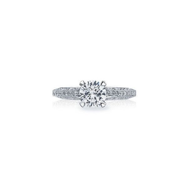Tacori Classic Crescent Four Prong Engagement Ring Mounting Koser Jewelers Mount Joy, PA