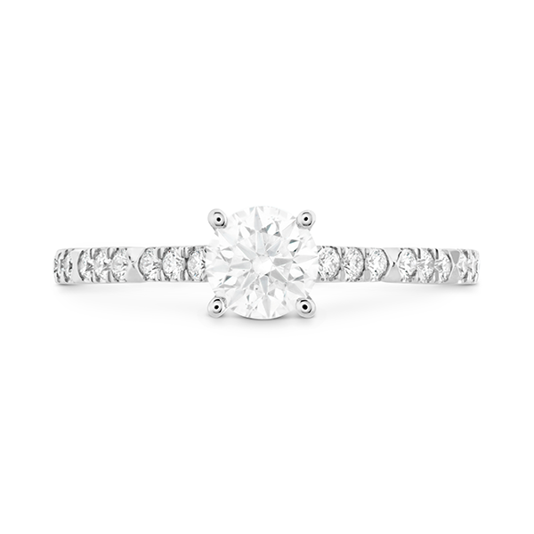 Hearts on Fire Cali Chic Engagement Ring Mounting Koser Jewelers Mount Joy, PA