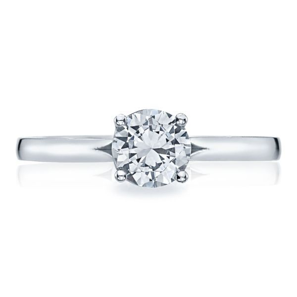 Tacori Sculpted Crescent Solitaire Engagement Ring Mounting Koser Jewelers Mount Joy, PA