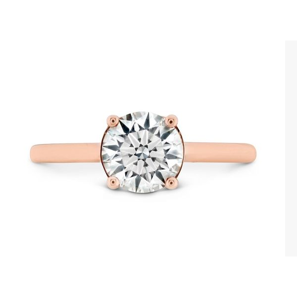 Hearts on Fire Hayley Paige Sloane Solitaire Engagement Mounting Koser Jewelers Mount Joy, PA