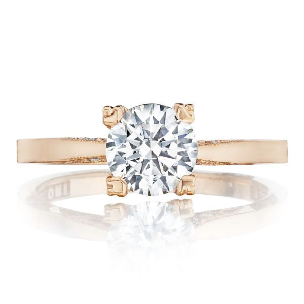 Simply Tacori Solitaire Engagement Ring Mounting Koser Jewelers Mount Joy, PA