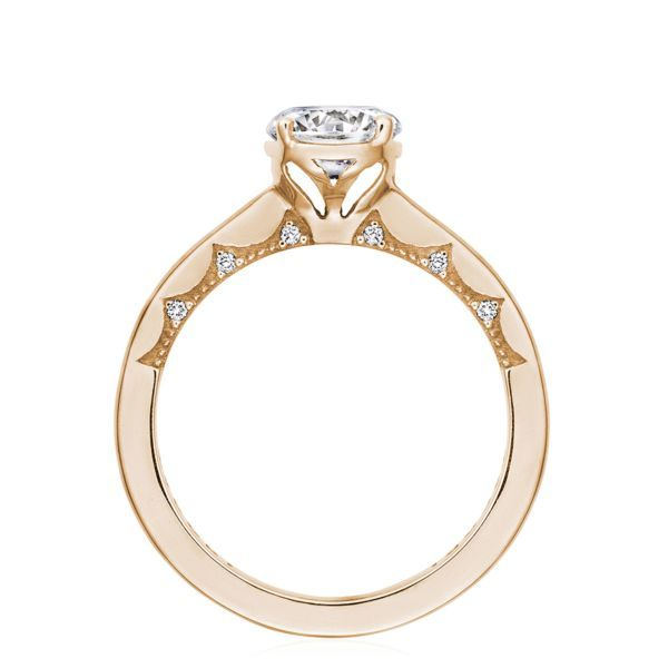 Tacori Coastal Crescent Solitaire Engagement Ring Mounting Image 2 Koser Jewelers Mount Joy, PA