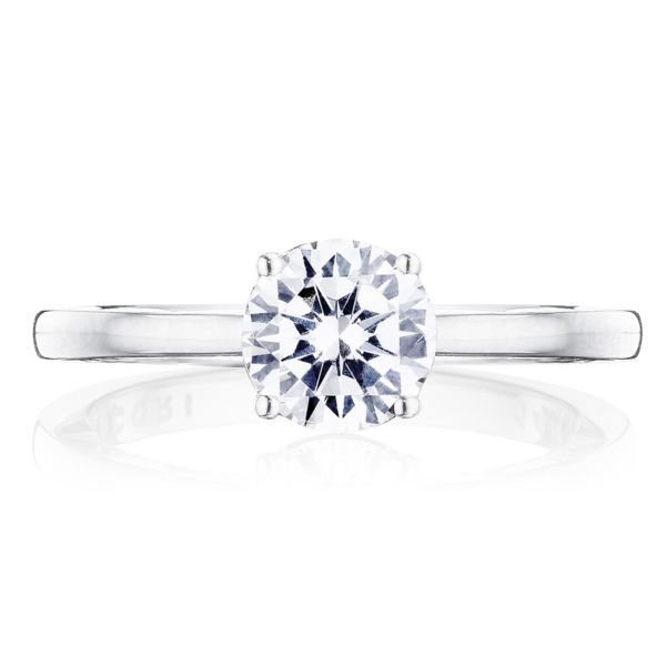 Tacori Coastal Crescent Solitaire Engagement Ring Mounting Koser Jewelers Mount Joy, PA