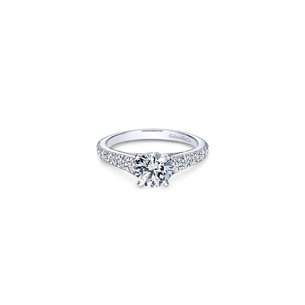 Gabriel & Co. Bridget Engagement Ring Mounting Koser Jewelers Mount Joy, PA