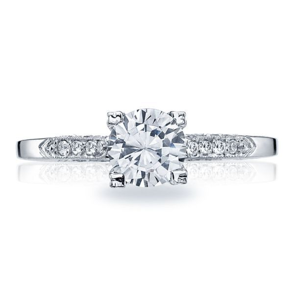 Simply Tacori Diamond Solitaire Engagement Ring Mounting Koser Jewelers Mount Joy, PA