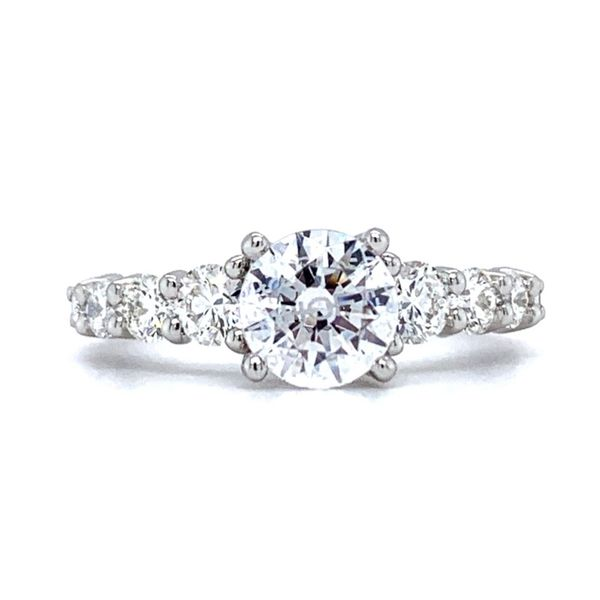 Hearts On Fire Verona Platinum Engagement Ring Mounting Koser Jewelers Mount Joy, PA
