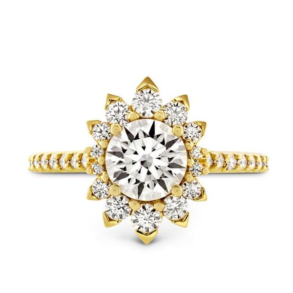 Hearts On Fire Behati Say It Your Way Oval Diamond Engagement Ring Mounting Koser Jewelers Mount Joy, PA