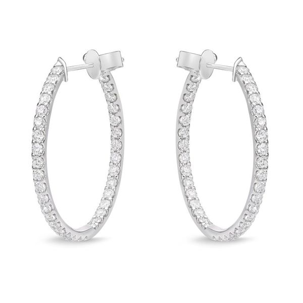 Memoire Odessa Diamond Hoops Koser Jewelers Mount Joy, PA