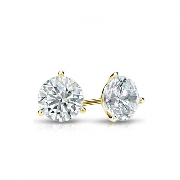 Hearts On Fire Three Prong Stud Earrings Koser Jewelers Mount Joy, PA