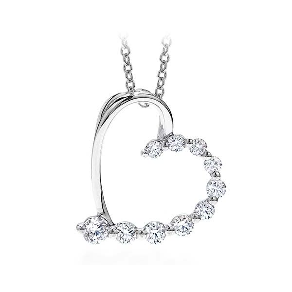 Hearts on Fire Amorous Journey Heart Diamond Pendant Koser Jewelers Mount Joy, PA