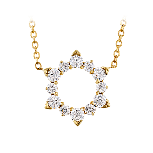 Hearts On Fire Aerial Eclipse Diamond Necklace Koser Jewelers Mount Joy, PA