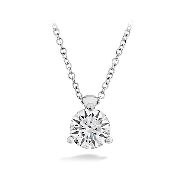 Hearts On Fire Classic Three Prong Solitaire Diamond Pendant Koser Jewelers Mount Joy, PA