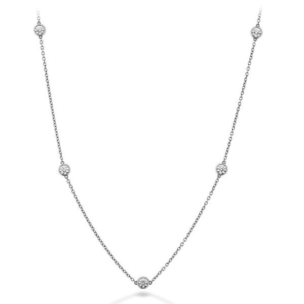 Hearts On Fire Signature Bezels By The Yard Diamond Necklace Koser Jewelers Mount Joy, PA