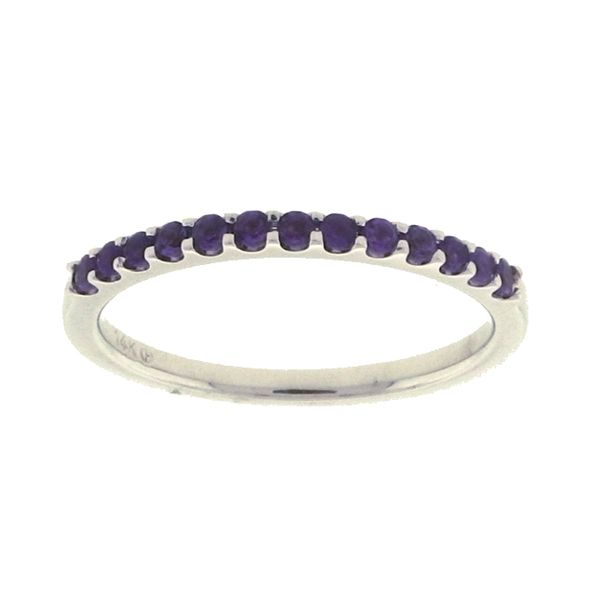 Amethyst Stackable Ring Koser Jewelers Mount Joy, PA