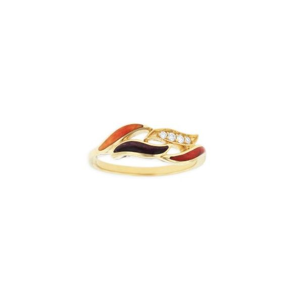 Kabana Rivera Multi Color Inlaid Ring Koser Jewelers Mount Joy, PA
