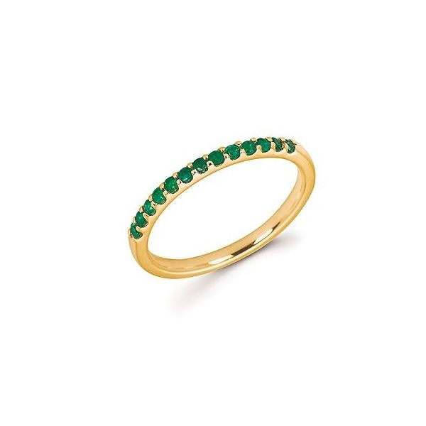 Emerald Shared Prong Birthstone Ring Koser Jewelers Mount Joy, PA