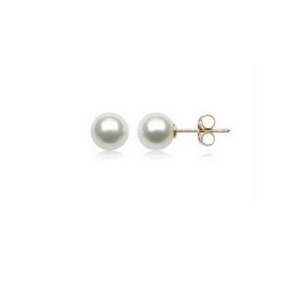 Akoya Pearl Stud Earrings Koser Jewelers Mount Joy, PA