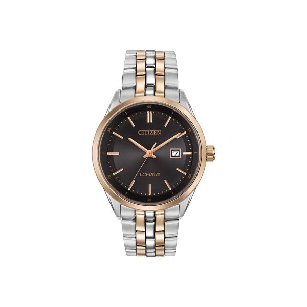 Citizen® Eco-Drive® Men's Black Dial Rose Tone Watch BM7256-50E Koser Jewelers Mount Joy, PA