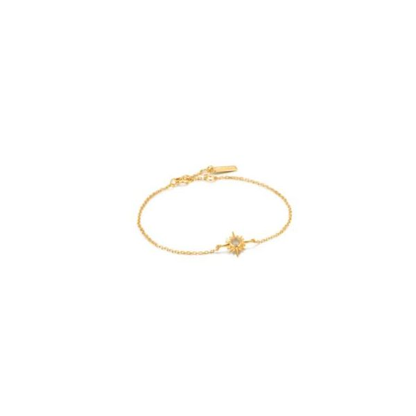 Ania Haie Midnight Fever Star Bracelet Gold Tone Sterling Silver Koser Jewelers Mount Joy, PA