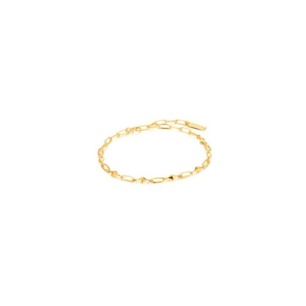 Spike It Up Bracelet Gold Tone Sterling Silver Koser Jewelers Mount Joy, PA
