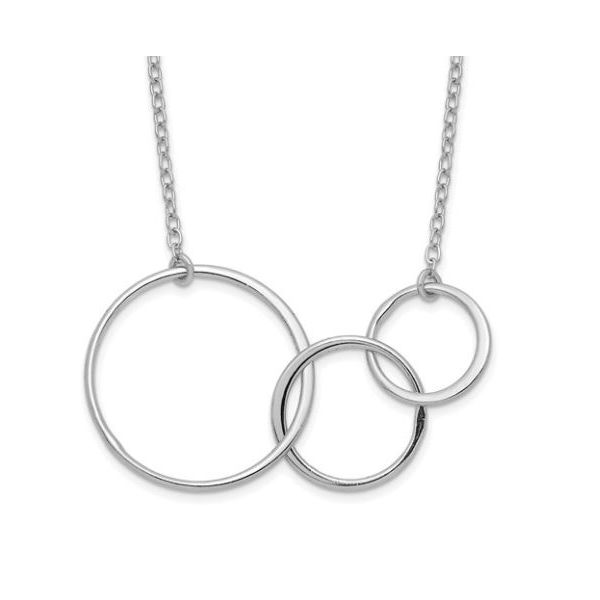 Three Intertwined Circles Necklace Koser Jewelers Mount Joy, PA