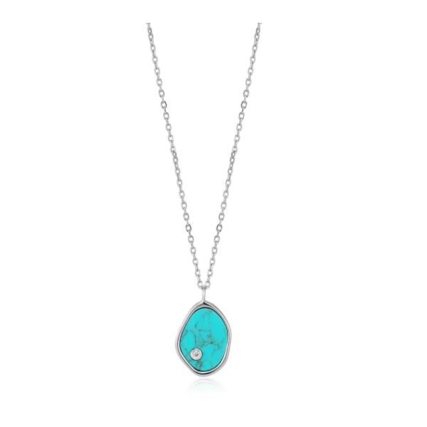 Ania Haie Tidal Turquoise Necklace Koser Jewelers Mount Joy, PA