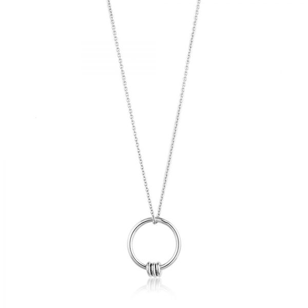 Ania Haie Modern Circle Necklace Koser Jewelers Mount Joy, PA