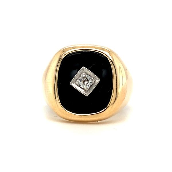 Diamond & Onyx Ring Koser Jewelers Mount Joy, PA