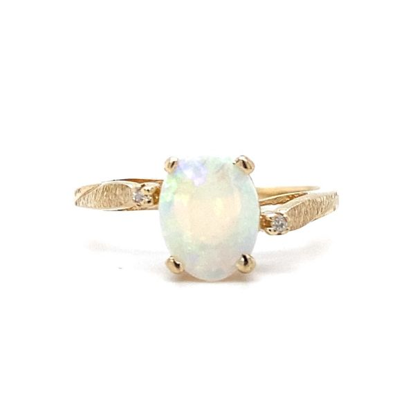 Oval Opal Ring Koser Jewelers Mount Joy, PA