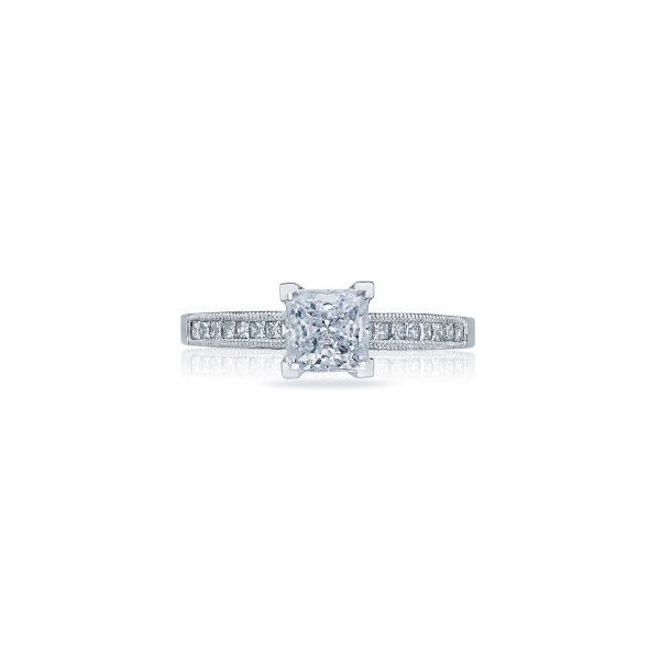 Tacori Pre-Owned Princess Cut Engagement Ring Koser Jewelers Mount Joy, PA