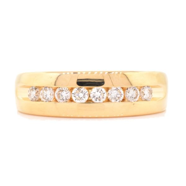 Channel Set Diamond Band Koser Jewelers Mount Joy, PA