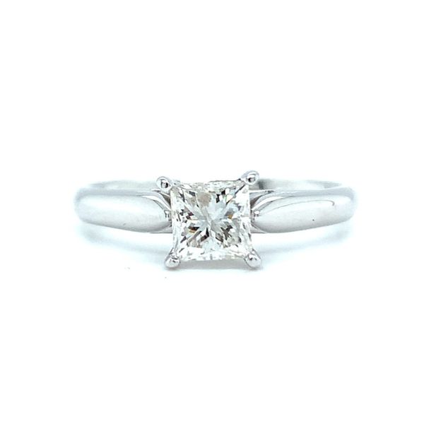 Princess Cut Solitaire Diamond Engagement Ring Koser Jewelers Mount Joy, PA