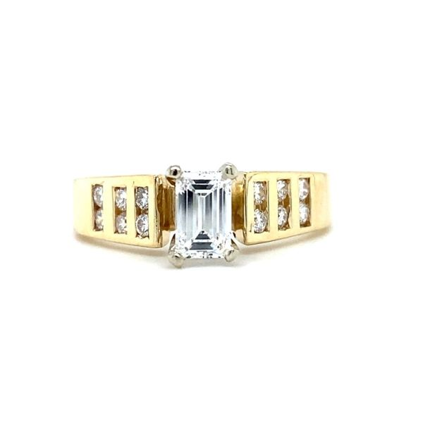 Emerald Cut Diamond Engagement Ring Koser Jewelers Mount Joy, PA