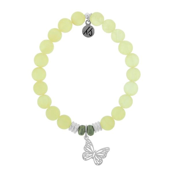 TJazelle Butterfly Bracelet in Yellow Calcite Koser Jewelers Mount Joy, PA