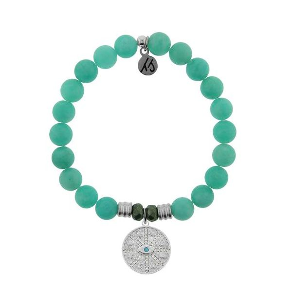 TJazelle Protection Bracelet in Peruvian Amazonite Koser Jewelers Mount Joy, PA