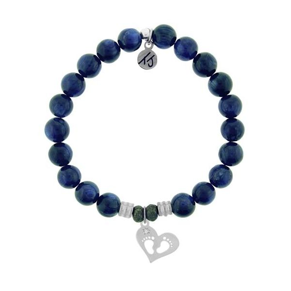 TJazelle Baby Feet Bracelet in Kyanite Koser Jewelers Mount Joy, PA