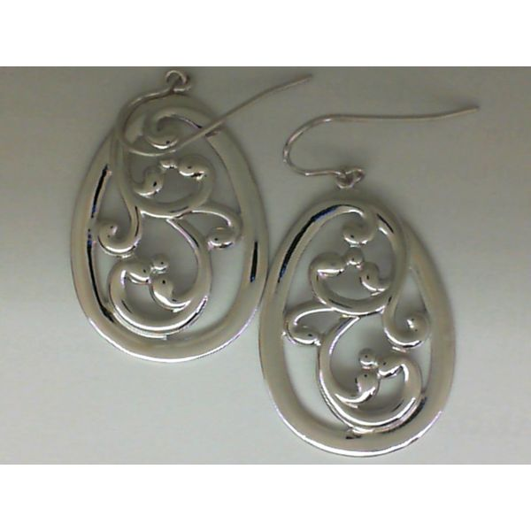 Silver Earring Krekeler Jewelers Farmington, MO