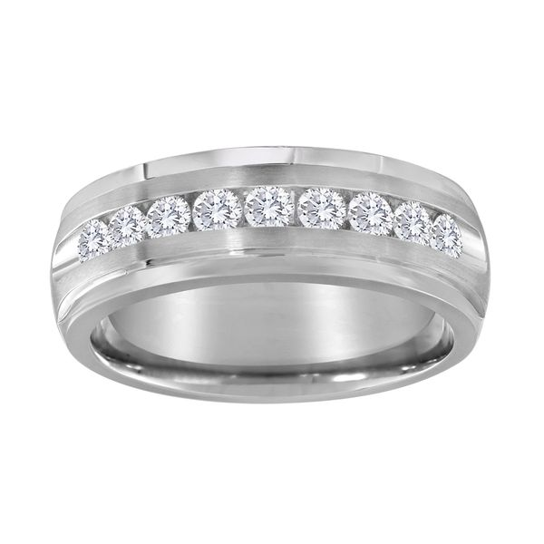 14K 1/2ctw Men's Diamond Band Kiefer Jewelers Lutz, FL