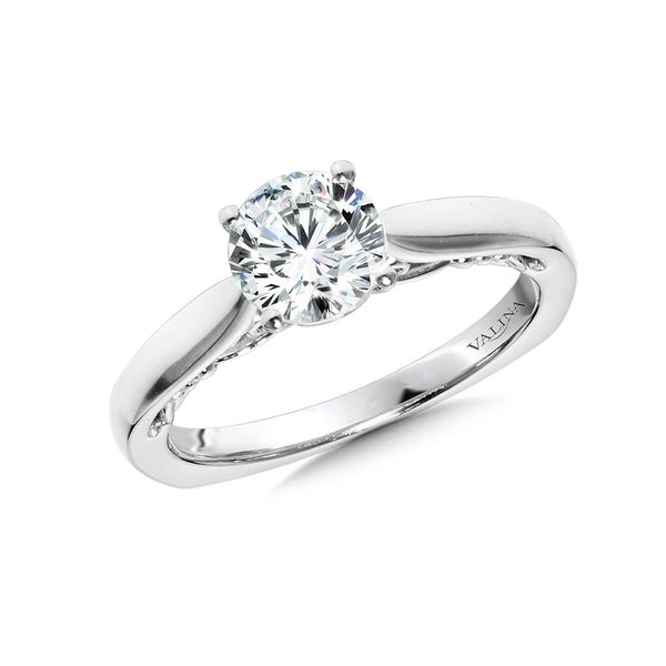Solitaire Engagement Ring Mounting Kiefer Jewelers Lutz, FL