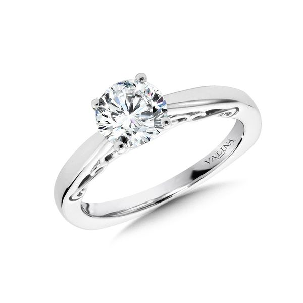 Solitaire Diamond Engagement Ring Mounting Kiefer Jewelers Lutz, FL