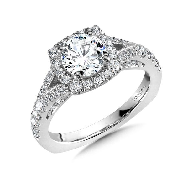 Diamond Engagement Ring Mounting Kiefer Jewelers Lutz, FL