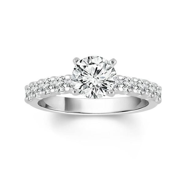 Diamond Sem-Mount Engagement Ring Kiefer Jewelers Lutz, FL