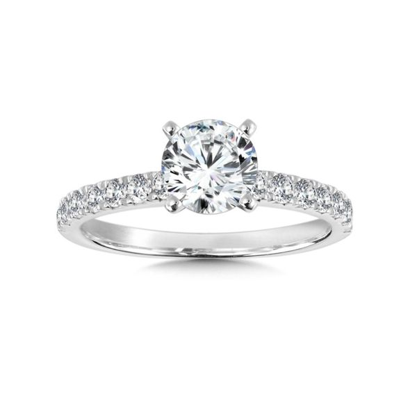 14KW .50ctw Classic Engagement Ring Mounting Kiefer Jewelers Lutz, FL