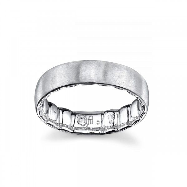 10K White Gold MFit Men's Wedding Band Kiefer Jewelers Lutz, FL